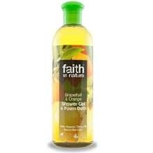 Faith in Nature Grapefruit & Orange Foam Bath 400ml