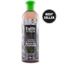 Faith in Nature Lavender & Geranium Shower Gel 400ml