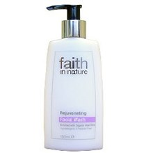 Faith in Nature Rejuvenating Facial Wash 150ml