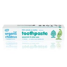 Green People Childrens Spearmint Toothpaste 50ml