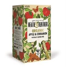 Heath And Heather Organic Apple & Cinnamon 20bag