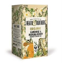 Heath And Heather Org Camomile & Manuka Honey 20bag