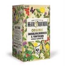 Heath And Heather Org Dandelion Burdock & Hawth 20bag