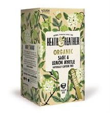Heath And Heather Organic Sage & Lemon Myrtle 20bag