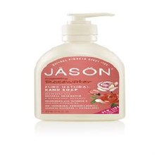 Jason Bodycare Rosewater Liq Satin Soap Pump 480ml