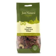 Just Natural Organic Org Mixed Nuts 500g