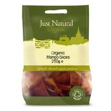 Just Natural Organic Org Mango Slices 250g