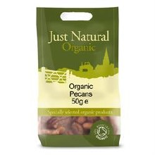 Just Natural Organic Org Pecan Halves 50g