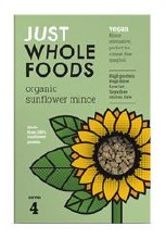 Just Wholefoods Organic Sunflower Mince 72g