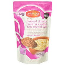 Linwoods Milled Flaxseed Nuts & Q10 Mix 360g