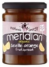 Meridian Org Orange Fruit Spread 284g