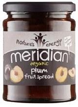 Meridian Org Plum Fruit Spread 284g