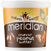 Meridian Crunchy Peanut Butter 100% Nut 1000g
