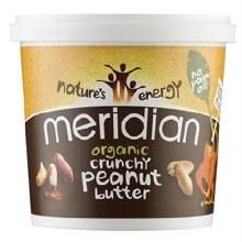 Meridian Org Crunch Peanut Butter 1000g