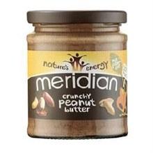 Meridian Crunchy Peanut Butter 100% 280g