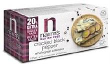 Nairns Gluten Free Cracker- Black Pep 137g