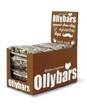 Olly Bars Peanut Choc Chip Bar 60g