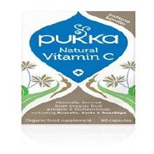 Pukka Herbs Natural Vitamin C 60 capsule