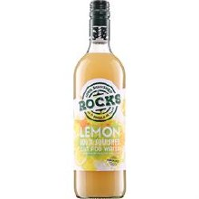 Rocks Organic Lemon Squash 740ml