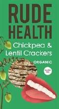 Rude Health Chickpea & Lentil Crackers 120g