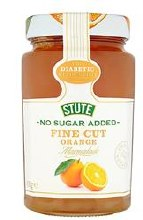 Stute No Sugar Added Fine Marmalade 430g