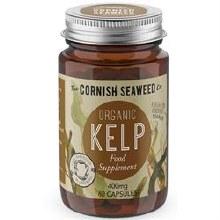 The Cornish Seaweed Company Organic Kelp Capsules 60unit