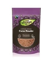 The Raw Chocolate Company Cacao Powder Organic Fairtrade 180g