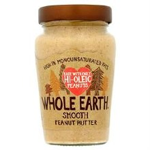 Whole Earth Hi Oleic Smooth Peanut Butter 340g