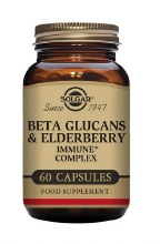 Solgar Beta Glucans & Elderberry Immu 60