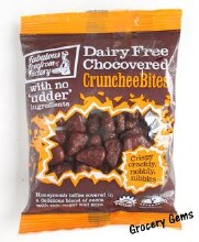 Fabulous Free From Factory Chocovered Crunchee Bites 65g