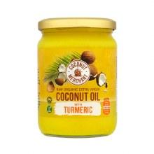 Coconut Merchant Coconut Oil With Turmeric 500ml