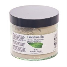Amour natural French green clay 80g
