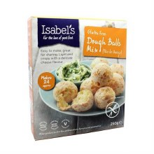 Isabels Naturally Free From Isabel's Dough Balls Mix 250g