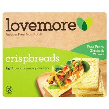 Lovemore Lovemore crispbreads 125g 125g
