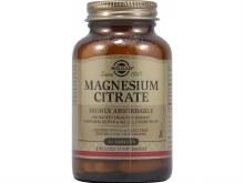 Solgar Magnesium Citrate Tabs 60