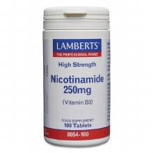 LAMBERTS NICOTINAMIDE 250mg 100