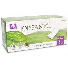 Organyc Panty liners flat light flow 24