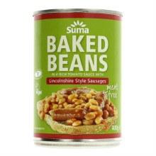 Suma Suma Bakd Bean & Vegan Sausage 400g
