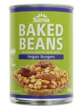 Suma Suma Bakd Beans & Vegan Burger 400g