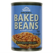 Suma Suma Org Low Sugar Baked Beans 400g