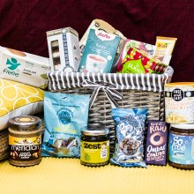 Conscience foods Vegan Luxury Hamper x 16 items