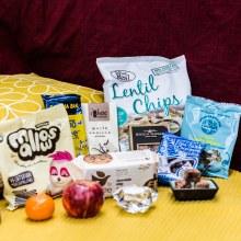 Conscience foods Vegan snack box x 8 items