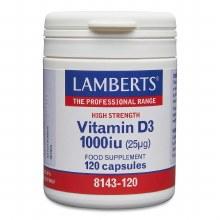 LAMBERTS VITAMIN D3 1000 i.u. (25ug) 120