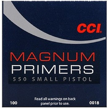 #550 Small Pistol Magnum CCI Primers
