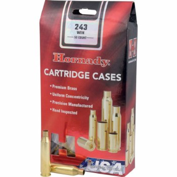 .243 Winchester Hornady Cases 50/bx