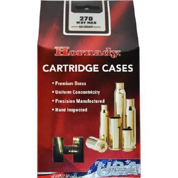 .270 Wby. Mag. Hornady Cases 50/bx