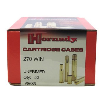 .270 Winchester Hornady Cases 50/bx