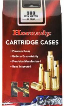 .308 Win. Match Hornady Cases 50/bx