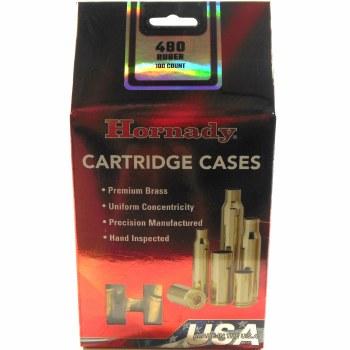 .480 Ruger Hornady Cases 100/bx