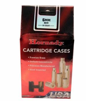 6mm Remington Hornady Cases 50/bx